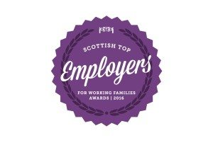 Scottish Top Employers Awards for Working Families 2016 Logo
